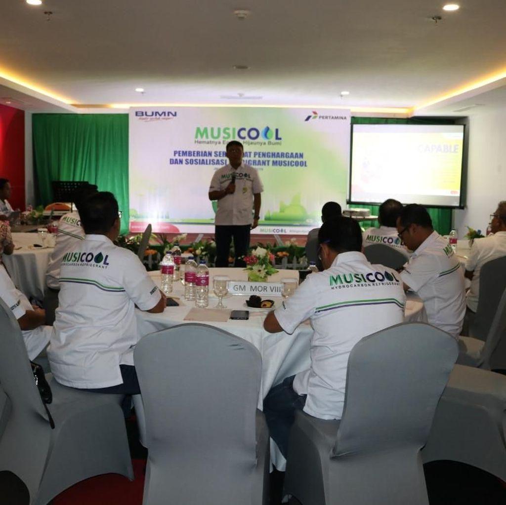 Pertamina Sosialisasi Refrigeran Ramah Lingkungan Musicool di Jayapura