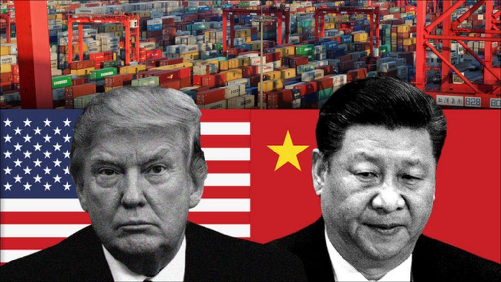 Perang Dagang Makin Sengit, AS China Saling Balas Tarif