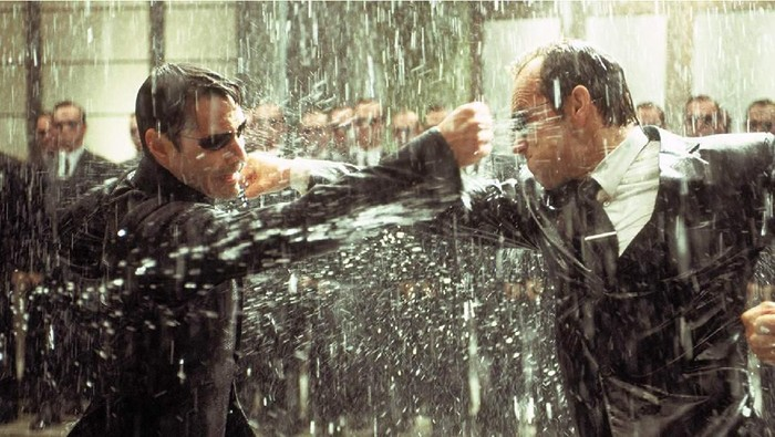 Screenshoot film The Matrix.