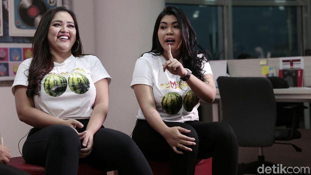Mengintip Duo Semangka Sedang Perawatan, Diapain Saja Sih?