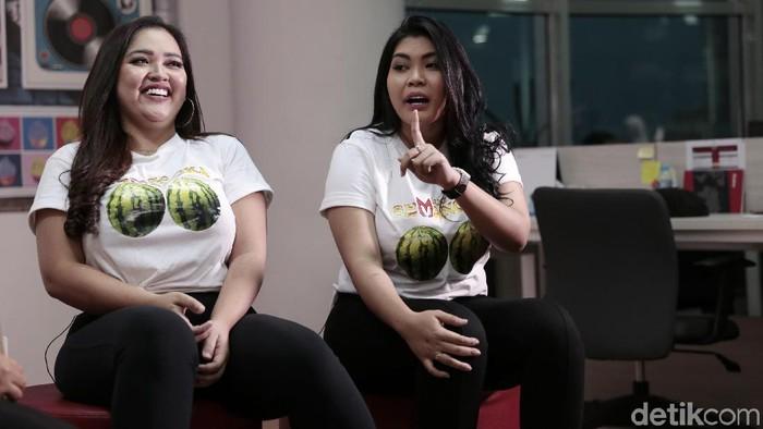 Duo Semangka sempat bikin heboh karena penampilannya dinilai vulgar (Foto: Asep Syaifullah/detikHOT)