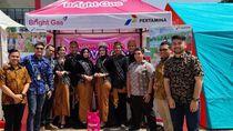 Si Pink Bright Gas Ramaikan Festival Kuliner Sukabumi