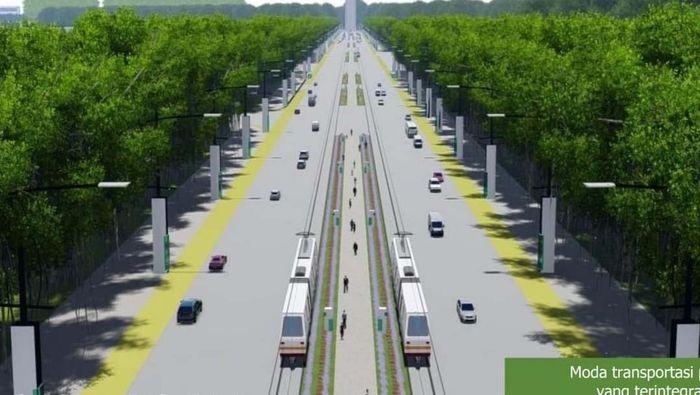 Desain ibu kota baru/Foto: Kementerian PUPR