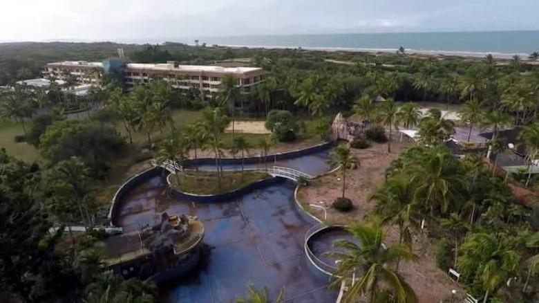 Resort mewah di Australia yang kini terbengkalai (Manta System/Youtube)
