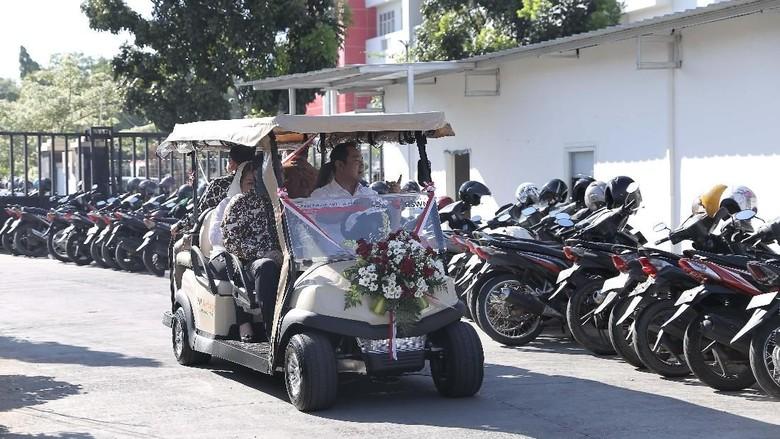 Inovasi RSUD Semarang Pindahkan Pasien Pakai Mobil Listrik