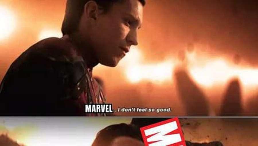 Kumpulan Meme Spider-Man yang Cabut dari Marvel