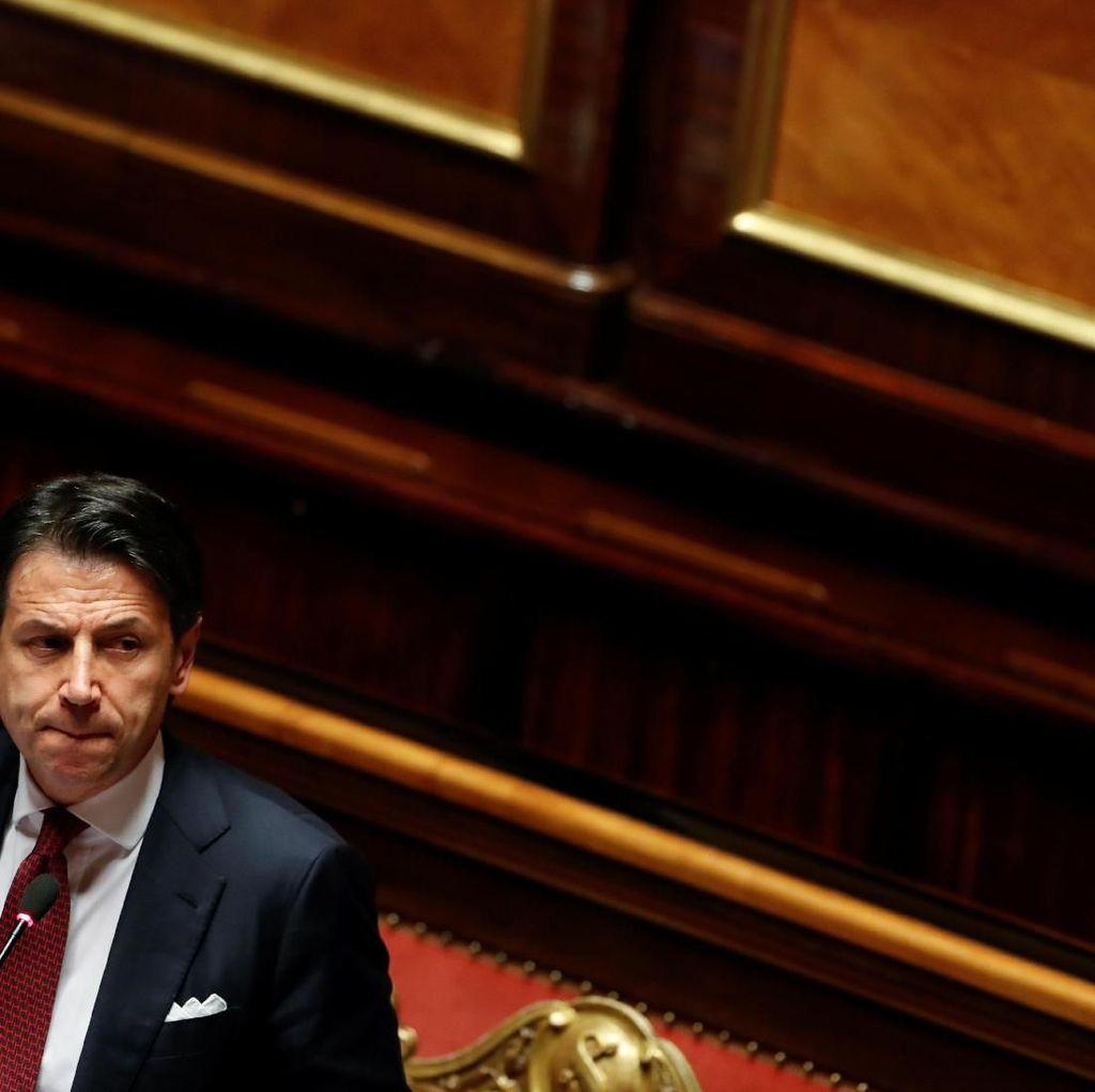 Serangan dalam Pamitan Perdana Menteri Italia