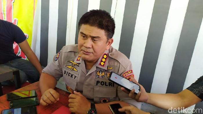 Kabid Humas Polda Sulsel Kombes Dicky Sondani (M Taufiqurrahman/detikcom)