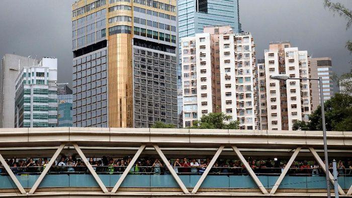 Ilustrasi Kondisi Hong Kong Foto: Reuters