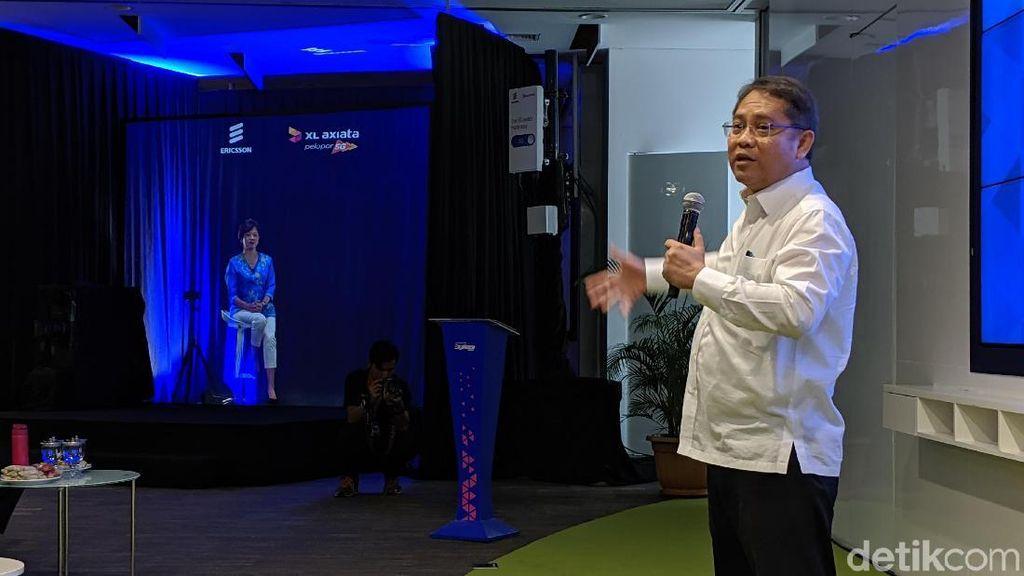 Menkominfo Sebut Hologram 5G Bisa Jadi Killer App Capres 2024