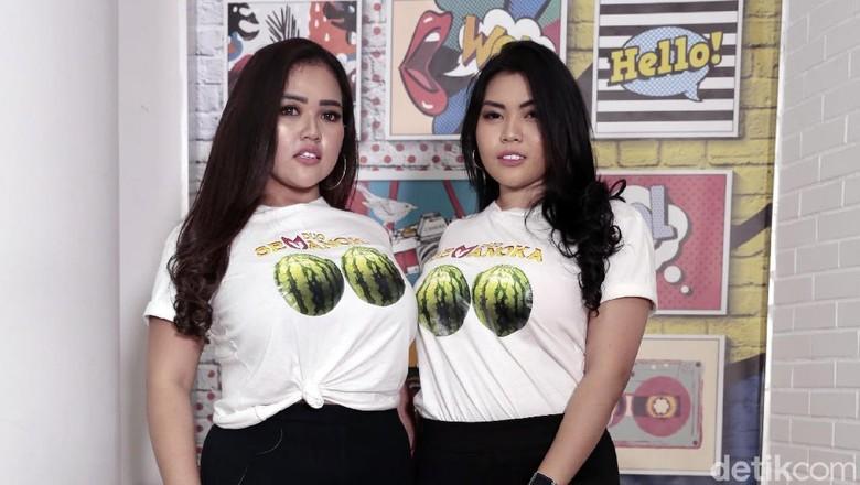 Duo Semangka Foto: Asep Syaifullah/detikHOT