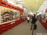 Keren! Instalasi Seni dari Barang Bekas Hiasi Terowongan Kendal