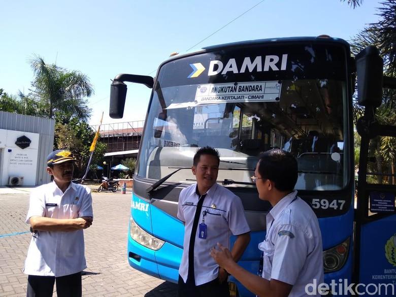 Bus DAMRI Cimahi-Bandara Kertajati Beroperasi, Ini Jadwalnya