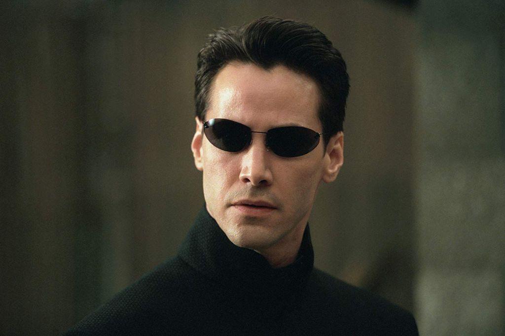 Screenshoot film 'The Matrix'.