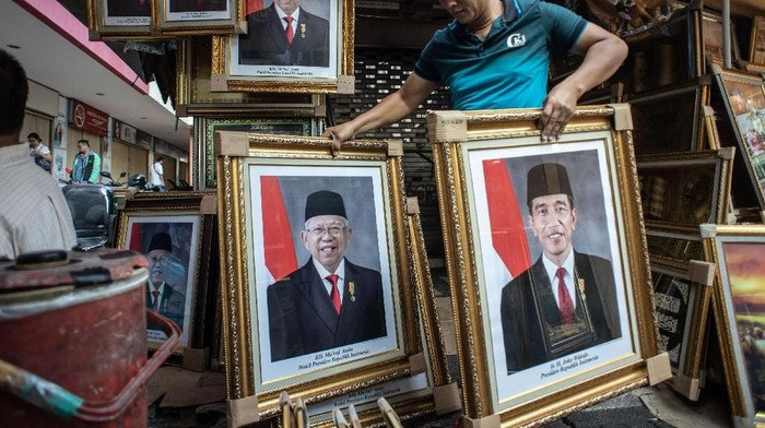 Foto: Jokowi-Maruf (ANTARA FOTO/Aprillio Akbar)