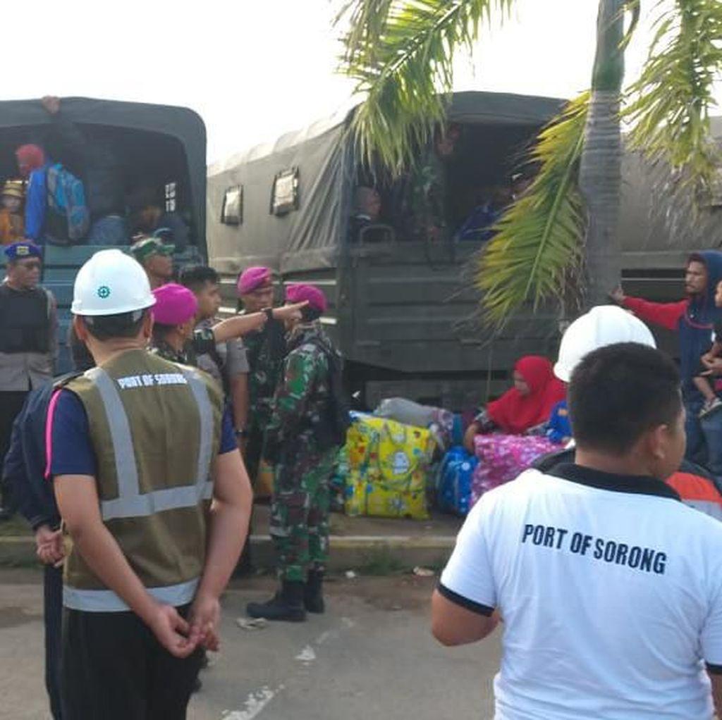 Pasca Kericuhan, Proses Sandar 2 Kapal Pelni di Sorong Berjalan Aman