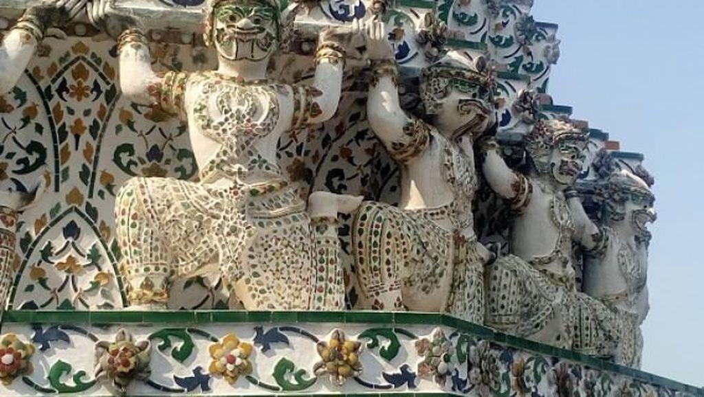 Cantiknya Wat Arun, Destinasi Ikonik di Bangkok Thailand