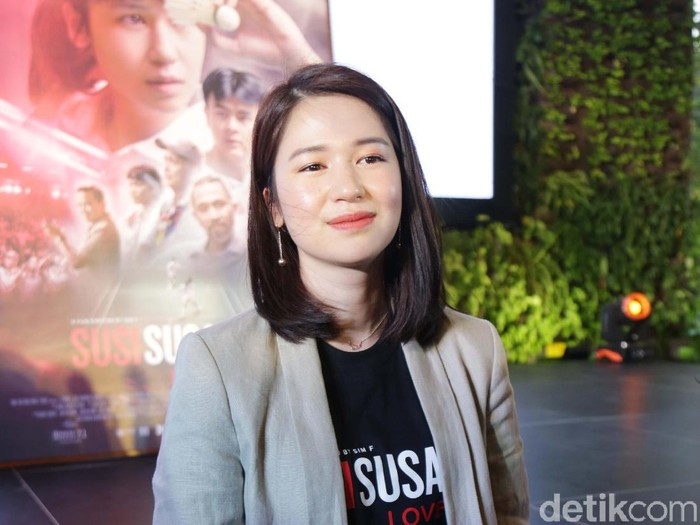 Laura Basuki saat ditemui di kawasan Gatot Subroto.