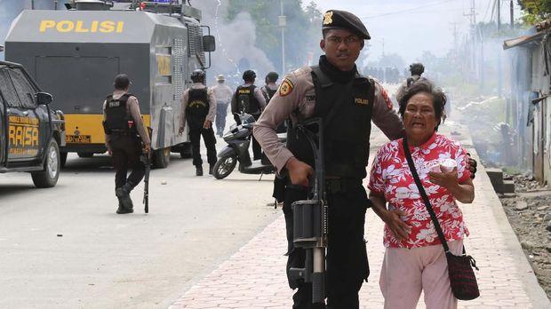 [HOLD] Cerita Eks Korlap Demo di Timika Saat Diamankan Polisi