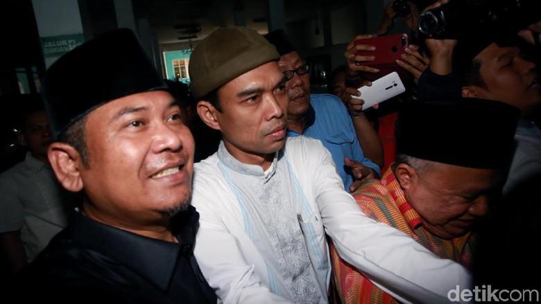 3 Poin Klarifikasi Ustaz Somad Soal Video Salib Sebelum ke MUI
