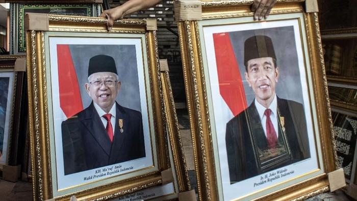 Jokowi-Maruf Amin (Foto: ANTARA FOTO/Aprillio Akbar)