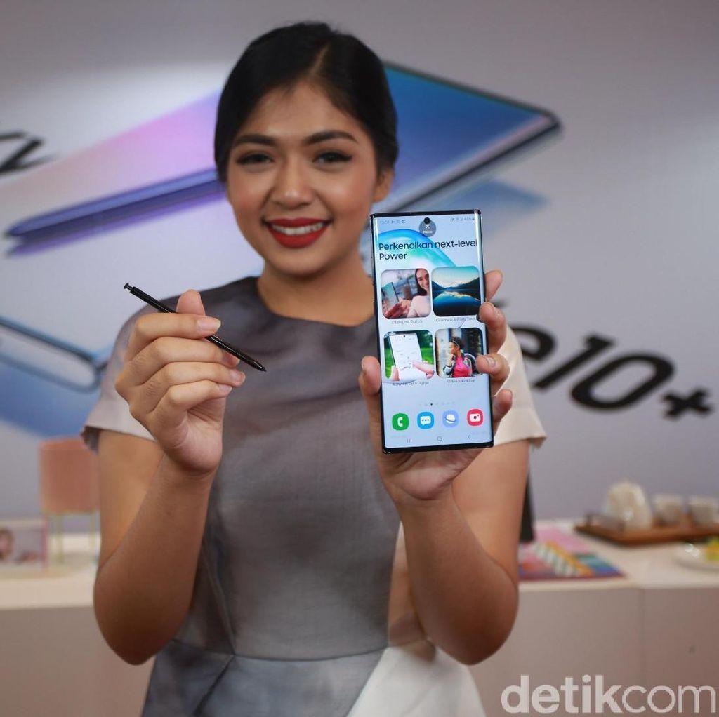 Pemesanan Awal, Galaxy Note 10+ Versi Termahal Paling Laris