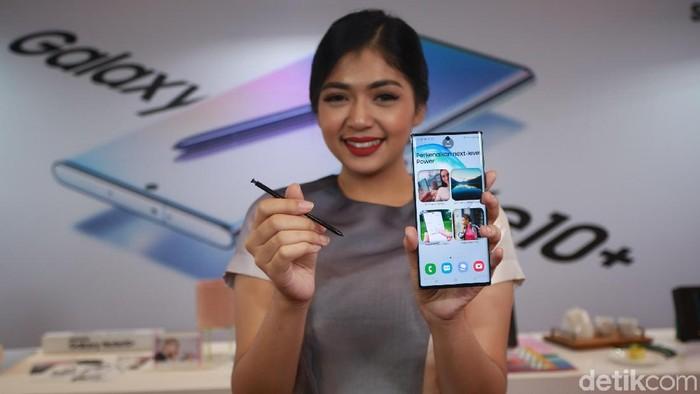 Pemesanan Awal, Galaxy Note 10+ Versi Termahal Paiing Laris. (Foto: Agung Pambudhy/detikINET)