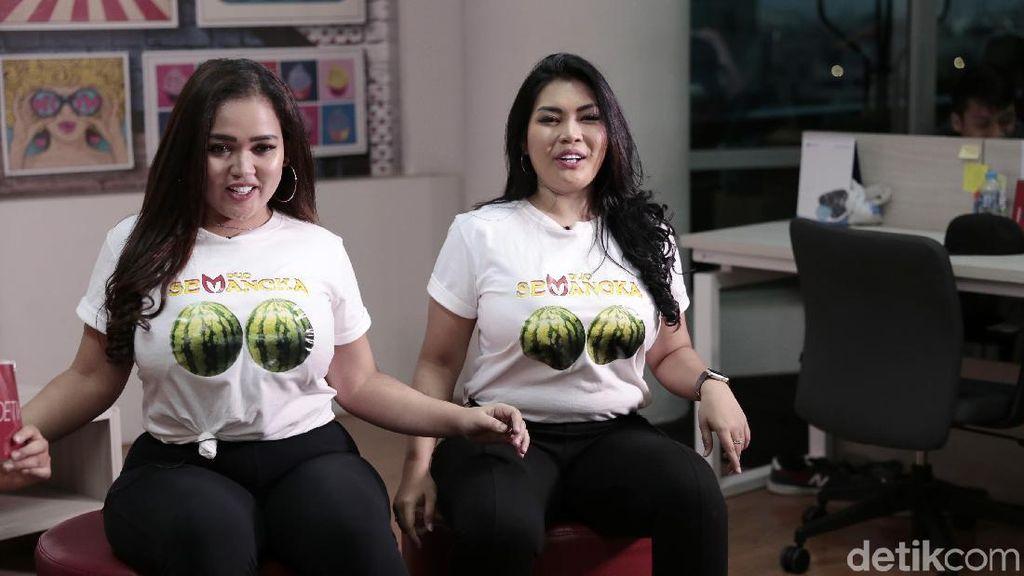 Bikin Duo Semangka, Clara dan Variola Hampir Diusir dari Rumah