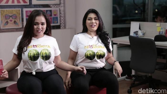 Duo Semangka pilih olahraga renang dan muay thai. Foto: Asep Syaifullah/detikHOT