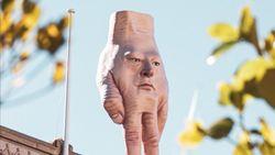 Hii Seram.. Patung Tangan Raksasa Resahkan Warga Selandia Baru