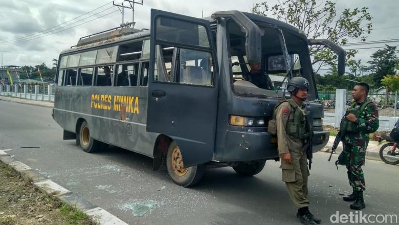 Kericuhan di Timika, 20 Orang Diamankan Polisi