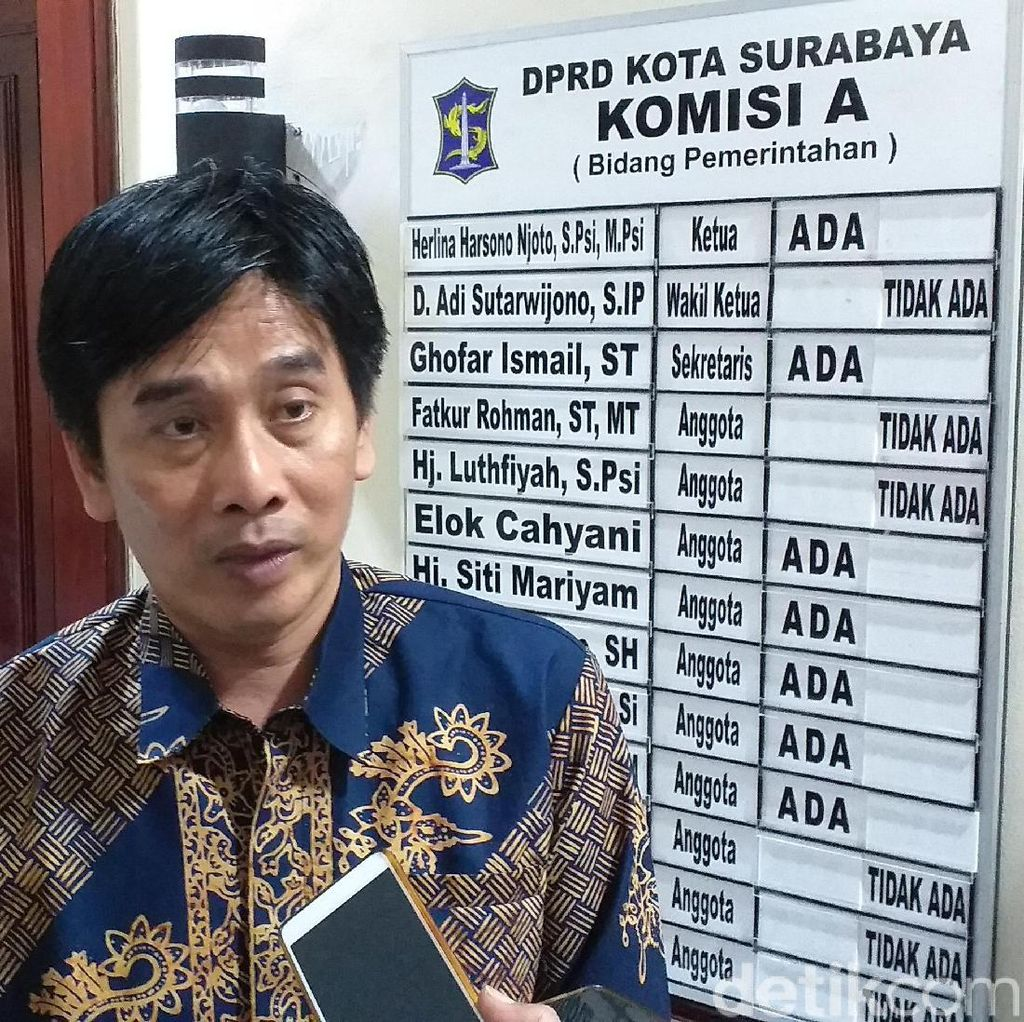KPU Surabaya Kirim Surat Penundaan Pelantikan Anggota DPRD ke Gubernur