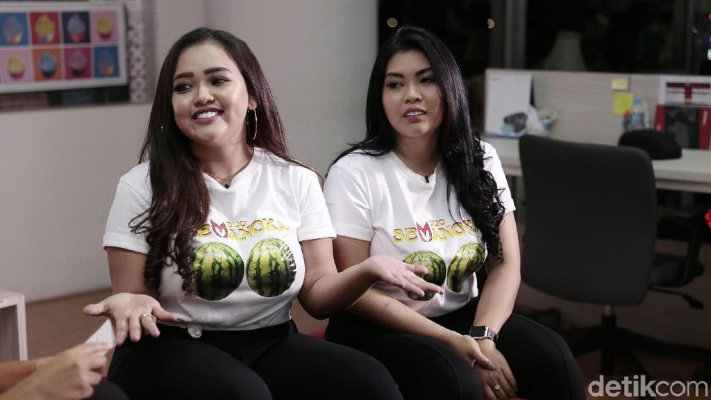 Cerita Pedih Duo Semangka, Didoakan Kanker hingga Meninggal