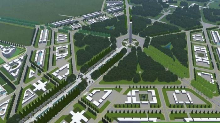 Presiden Joko Widodo akan segera memindahkan ibu kota pemerintahan ke Kalimantan. Begini desainnya.