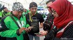 Ada Shelter Ojek Online Lho di Stasiun Sudirman