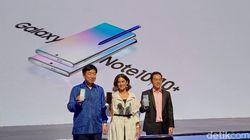 Galaxy Note 10 & Galaxy Note 10+ Resmi Meluncur di Indonesia