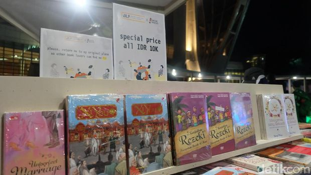 Jual 25 Ribu Buku, Pasar Buku Patjarmerah Sambangi Jakarta