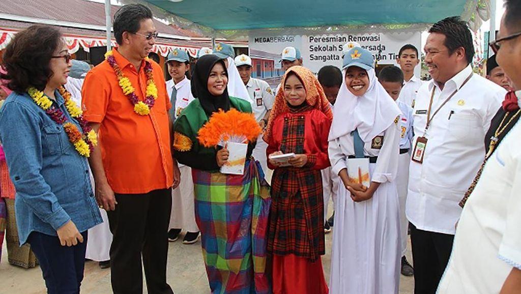 Bank Mega Renovasi SMK Persada Kalimantan Timur