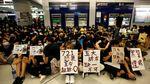 Sempat Duduki Stasiun MTR, Aksi Protes di Hong Kong Berakhir Ricuh
