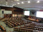 Suasana Rapat Paripurna RUU APBN Saat 257 Anggota DPR Tak Hadir