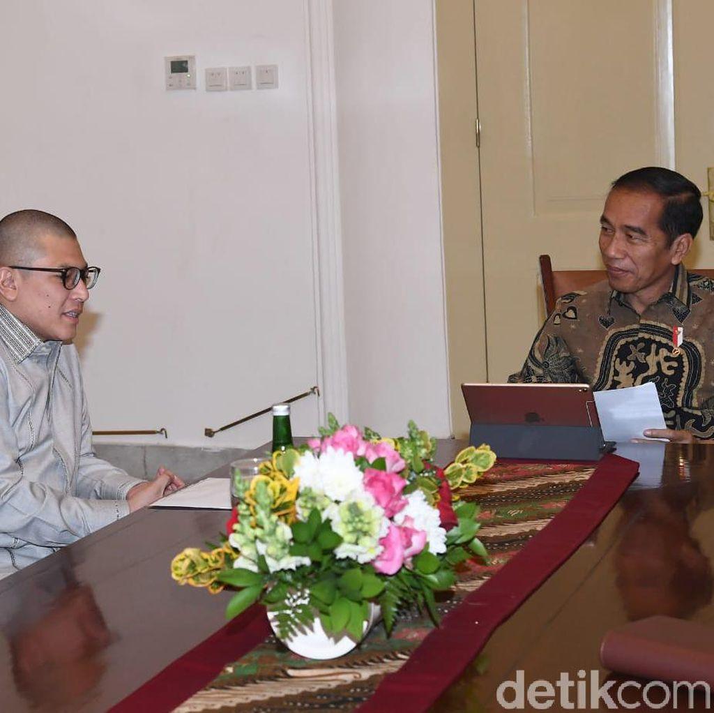 Apresiasi Jokowi soal Program Detikcom Bantu Jokowi Cari Menteri