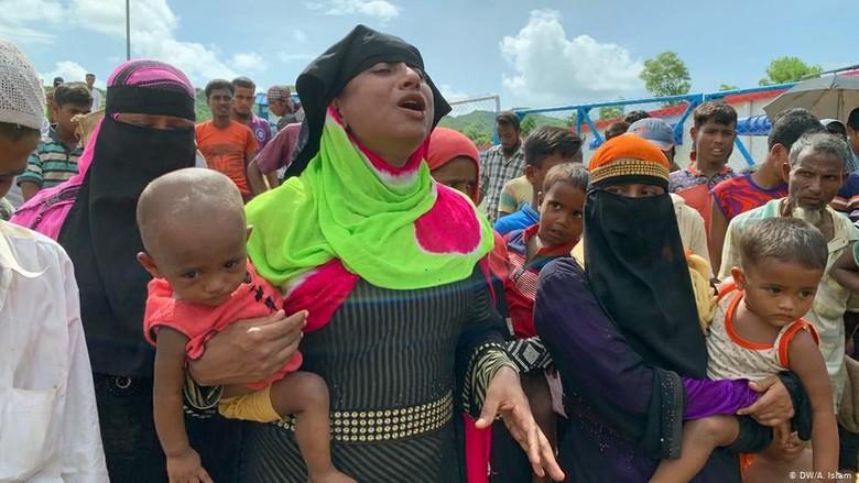 Rencana Pemulangan Picu Ketakutan Pengungsi Rohingya di Bangladesh