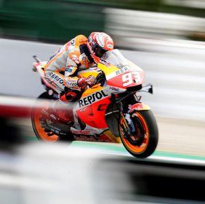 MotoGP Inggris: Marquez Menatap Rekor Podium Agostini
