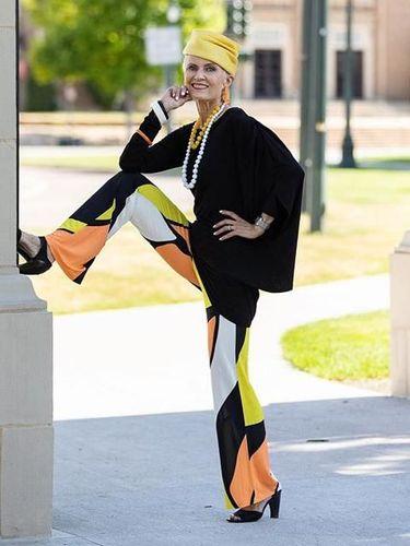 Judith Boyd nenek 76 tahun yang tampil di New York Fashion Week.