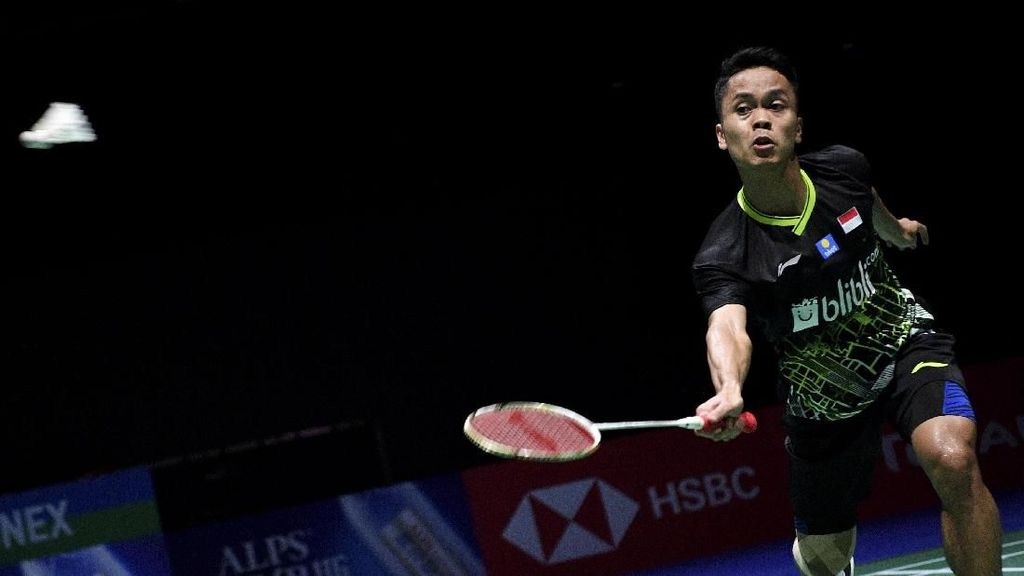 Anthony Ginting ke Semifinal Hong Kong Open, Hadapi Jonatan Christie