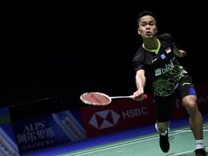 Kalahkan Antonsen, Anthony Ginting Jejak Final China Open 2019