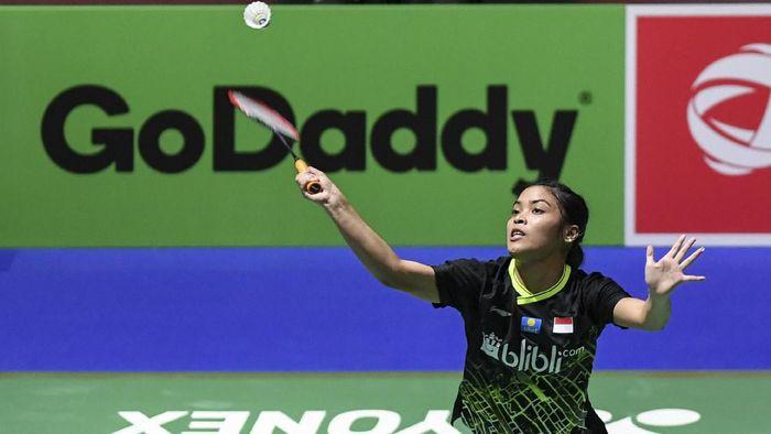 Gregoria Mariska Tunjung terhenti di babak pertama China Open 2019 (Foto: Hafidz Mubarak A/aww/Antara)