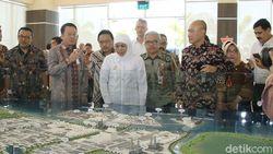 Gubernur Khofifah Kunjungi Kawasan Industri di Gresik, Ini Tujuannya