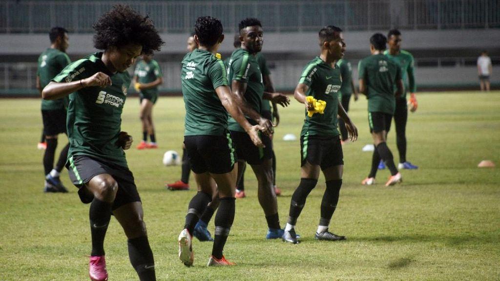 Timnas Jalani Dua Uji Coba Sebelum Jumpa Malaysia di Kualifikasi Piala Dunia