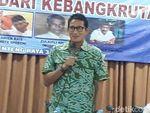 Sandiaga Sebut Perlu Ada Referendum Sebelum Ibu Kota Dipindah